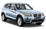 BMW X1 car rental at Bordeaux Airport, France