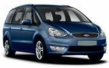 Ford Galaxy car rental at Toulouse Airport, France