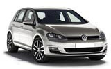 Volkswagen Golf car rental at Toulouse Airport, France