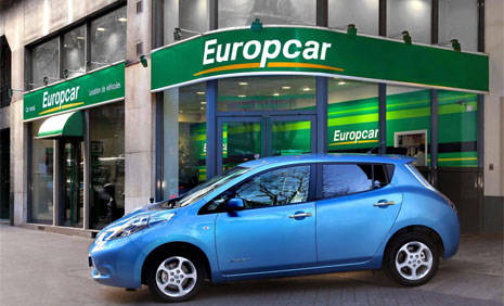 Book in advance to save up to 40% on Europcar car rental in Chateau Thierry