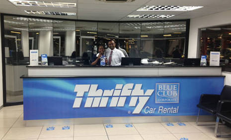 Book in advance to save up to 40% on Thrifty car rental in Mauvezin - City Centre